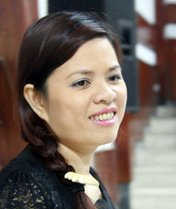TS Vũ Thu Hương.