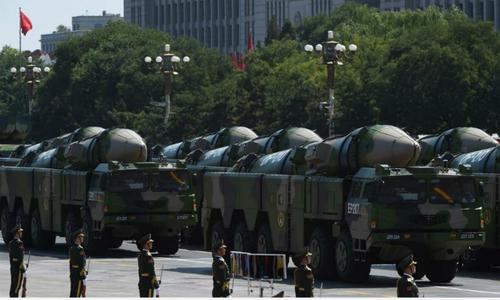 Trung Quốc chỉ trích Mỹ vì bị coi là đối thủ hạt nhân