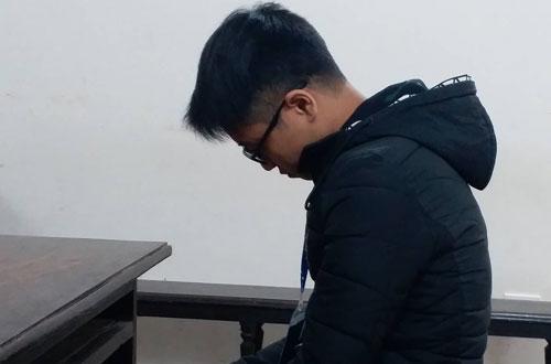 Bị cáo Linh tại phiên tòa phúc thẩm lần hai.