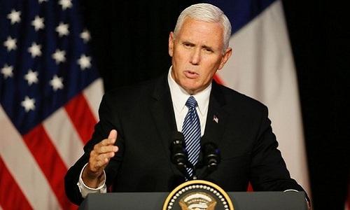 Phó tổng thống Mỹ thị sát căn cứ tên lửa trên đường tới dự Olympic