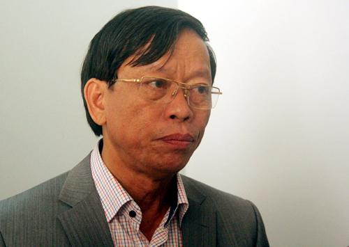 Ông Lê Phước Thanhbị cách chức Bí thư Tỉnh ủy nhiệm kỳ 2010 - 2015. Ảnh: Đắc Thành