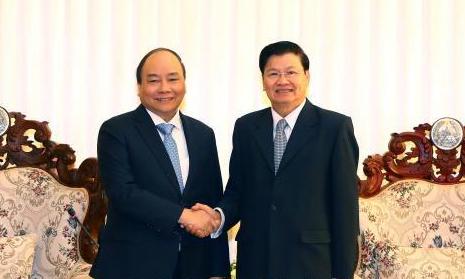 Việt - Lào tăng cường hợp tác, nâng quan hệ lên tầm cao mới