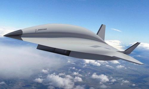 Thiết kế cơ bản của mẫu Valkyrie II. Ảnh: Boeing.