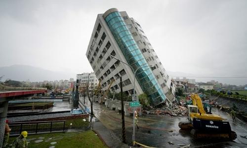 Đài Loan lại hứng chịu động đất 5,7 độ