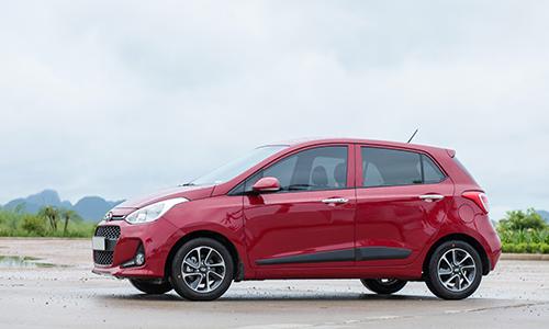 Hyundai i10, mẫu xe cỡ nhỏ được khách hàng tìm thuê nhiều nhất. Ảnh: Lương Dũng.