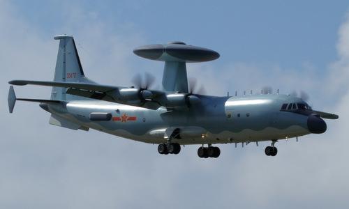 Trung Quốc tăng gấp ba máy bay cảnh báo sớm