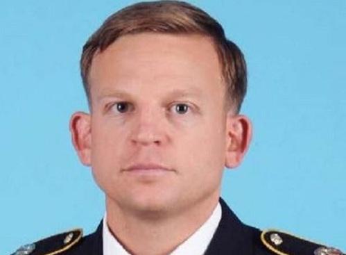 Binh sĩ Nicholas S.Amsberry. Ảnh: US Army.