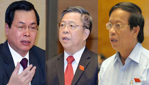 Hàng loạt cựu lãnh đạo bị cách chức trong hai năm