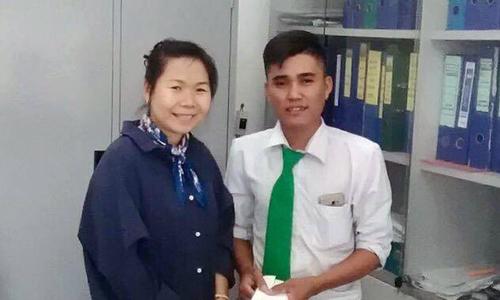 Đón xe đến Sài Gòn, nữ giám đốc bỏ quên 1,2 tỷ trên taxi