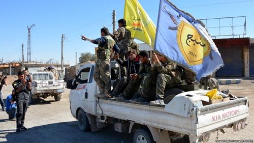 Lực lượng Dân chủ Syria. Ảnh: