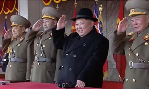 """Kim Jong-un: """"Triều Tiên là cường quốc quân sự đẳng cấp thế giới"""""""