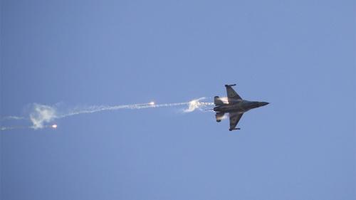 Chiến đấu cơ F-16 của Israel. Ảnh:
