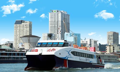 Tàu cao tốc Sài Gòn - Cần Giờ - Vũng Tàu bắt đầu hoạt động
