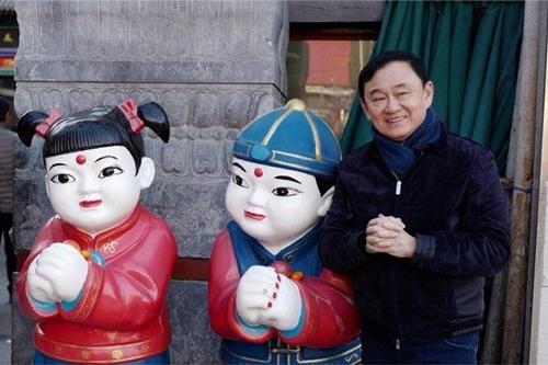 Cựu thủ tướng Thái Lan Thaksin Shinawatra được cho là đang ở Bắc Kinh, Trung Quốc. Ảnh:
