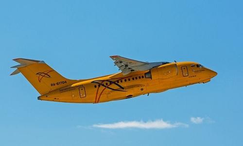 Phi cơ An-148 của hãng Saratov Airlines. Ảnh: RT.