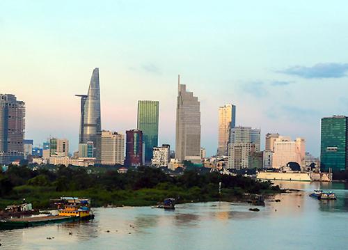 TP HCM có nhiều thời cơ thuận lợi để thúc đẩy phát triển nhanh. Ảnh: Thành Nguyễn.