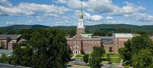 Trường Darthmouth, thuộc nhóm trườngIvy League, là một trong những trường đại học hàng đầu của Mỹ. Ảnh minh họa.