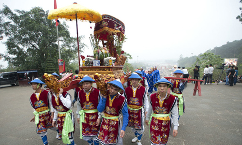 Lễ hội Đền Hùng 2018 có 5 tỉnh cùng tổ chức