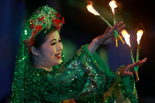 Thực hành tín ngưỡng thờ Mẫu tam phủ của người Việt được UNESCO công nhận là di sản văn hóa phi vật thể. Ảnh minh họa: Lê Bích