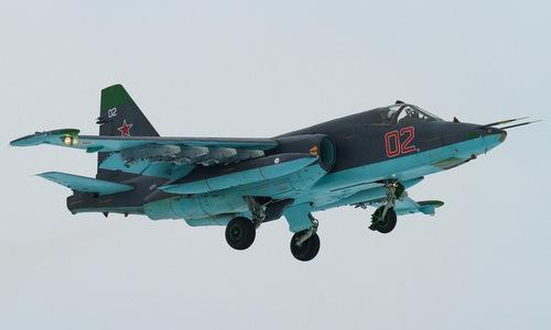 Cường kích Su-25SM3 được trang bị hệ thống Vitebsk. Ảnh: Russian Defence.