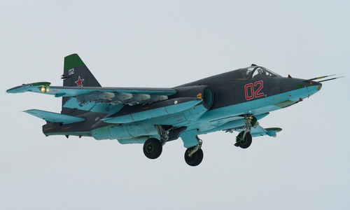 Cường kích Su-25 Nga ở Syria được gắn tổ hợp chống tên lửa vác vai