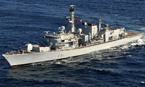 Tàu HMS Sutherland. Ảnh: Royal Navy.
