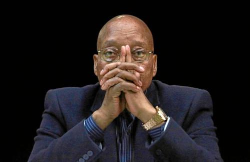 Tổng thống Nam Phi Jacob Zuma. Ảnh: Leadership.