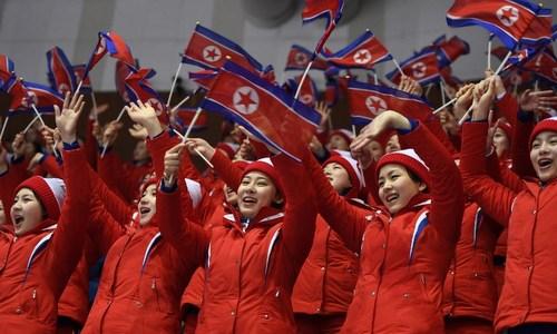 Hàn Quốc chi 2,6 triệu USD để đưa phái đoàn Triều Tiên đến dự Olympic - ảnh 1