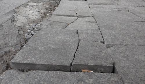 Thanh tra Hà Nội: Việc lát đá vỉa hè còn nhiều tồn tại, sai phạm