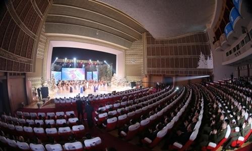 Ban nhạc Triều Tiên diễn ca khúc Hàn Quốc tại Bình Nhưỡng