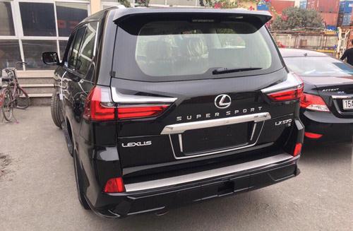 Lexus LX570 Super Sport 2018 bản xuất thị trường Trung Đông. Ảnh: FB/Siêu xe Quảng Ninh.