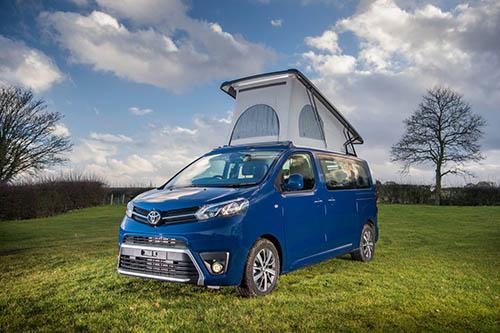Toyota Proace Lerina, xe van gia đình ra mắt tại châu Âu.