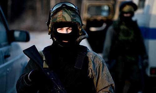 Thành viên lực lượng an ninh Nga. Ảnh: Sputnik.