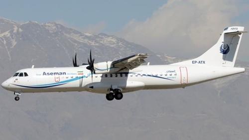 Một chiếc máy bay của hãngAseman Airlines. Ảnh: AFP.