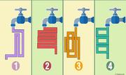 Nước từ chiếc vòi nào sẽ chảy nhanh nhất?