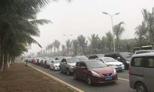 Đường rời thành phố Trung Quốc tắc 10 km vì xe vui Tết trở về