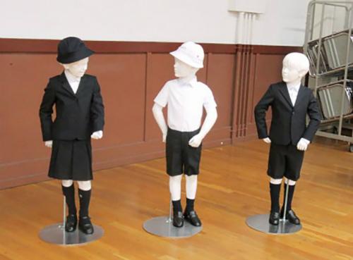 Trường Taimei muốn đồng phục mới xứng đáng với danh tiếng của quận Ginza. Ảnh:Taimei Elementary School