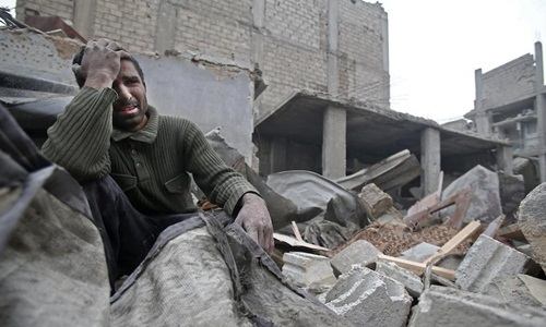 Sống trong sợ hãi dưới những căn hầm trú ẩn ở Syria