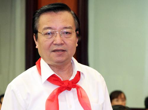 Ông Lê Hồng Sơn khẳng định việc học nghề ở phổ thông không phải chỉ để cộng điểm khuyến khích. Ảnh: Mạnh Tùng.