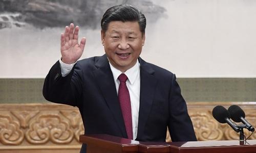 Chủ tịch Trung Quốc Tập Cận Bình tại Bắc Kinhhồi tháng 10 năm ngoái. Ảnh: AFP.
