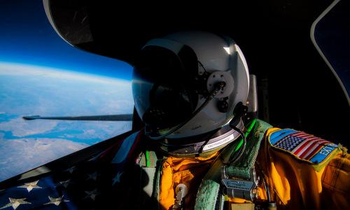 Hình ảnh Trái Đất máy bay do thám Mỹ chụp từ rìa vũ trụ