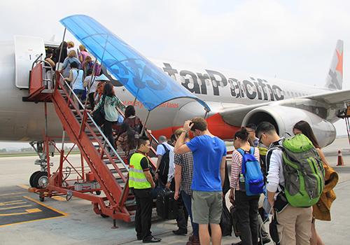 Các hãng hàng không Việt Nam sẽ mở thêm nhiều đường bay ra thế giới. Ảnh minh họa: Đ.Loan