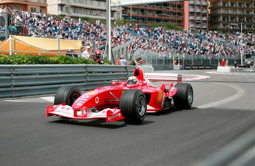 Monaco Grand Prix, đường đua trên đường phố.