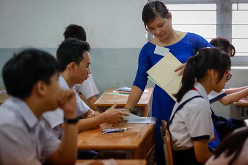 Theo dự thảo, giảng viên sư phạm phải đáp ứng 5 tiêu chuẩn với18 tiêu chí. Ảnh minh họa: Mạnh Tùng