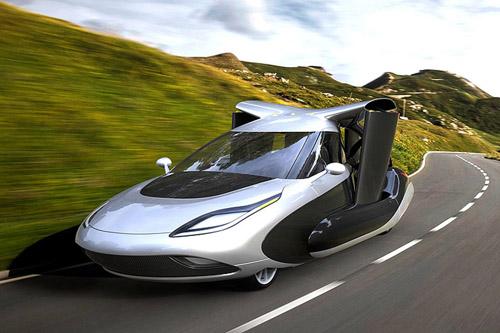 Một sản phẩm xe bay đang nghiên cứu củaTerrafugia. Ảnh: Motor1.