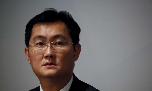 Tỷ phú Trung Quốc Mã Hóa Đằng. Ảnh: Reuters.
