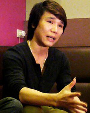 Ca sĩ Châu Việt Cường. Ảnh: A.T.