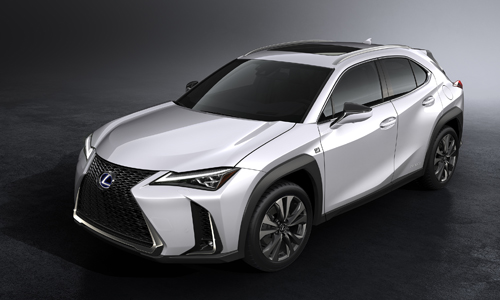 Lexus UX 2019 - crossover hạng sang mới.