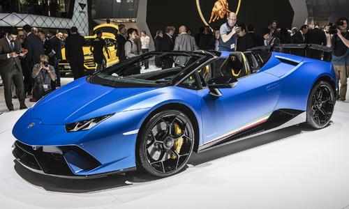 Huracan Performante Spyder - bản mui trần hiệu suất cao mới của Lamborghini.