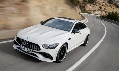 GT Coupe sedan - phiên bản 4 cửa của Mercedes-AMG GT Coupe.